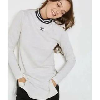 adidas - ⭐️アディダス  タートルネック白Tシャツ