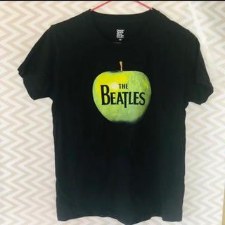 グラニフ(Design Tshirts Store graniph)の女性でも◎ BEATLESビートルズグリーンアップルプリントTシャツ(Tシャツ/カットソー(半袖/袖なし))