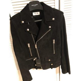 Saint Laurent - 定価60万位 サンローラン山羊革 L01 ライダースジャケット新品 付属品有り