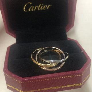 Cartier - カルティエ トリニティ リング Cartier