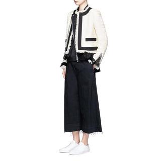 サカイ(sacai)の【sacai】Tweed Jacket【新品・未使用】(ノーカラージャケット)