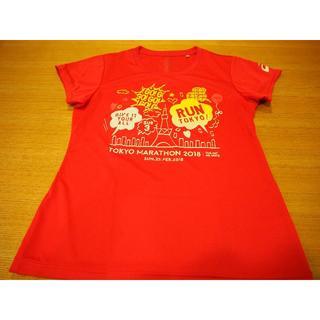 アシックス(asics)のasics(L) Tシャツ 東京マラソン2018 ピンク(Tシャツ(半袖/袖なし))