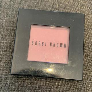 ボビイブラウン(BOBBI BROWN)のボビイブラウン チーク 03ローズ 4.5回使用のみ(チーク)