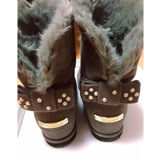 トランテアンソンドゥモード(31 Sons de mode)のあちさん専用 新品未使用31sons de mode ムートンブーツ(ブーツ)