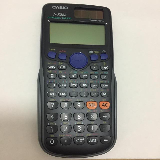 CASIO(カシオ)のfx-375es インテリア/住まい/日用品のオフィス用品(OA機器)の商品写真