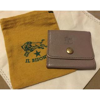 イルビゾンテ(IL BISONTE)の期間限定価格 イルビゾンテ 正規品 イタリアンレザー コインケース グレー(コインケース/小銭入れ)
