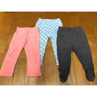 BREEZE - こども ズボン、パンツ おまとめ3枚セット サイズ80