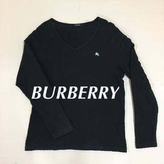 BURBERRY BLACK LABEL - バーバリー ロンT カットソー