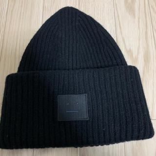 アクネ(ACNE)のAcne Studios ニット帽 フェイスタグ 男女兼用(ニット帽/ビーニー)