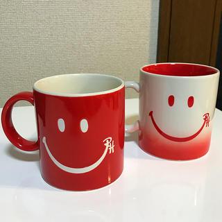 ロンハーマン(Ron Herman)のロンハーマン スマイルマグカップ 2個(グラス/カップ)