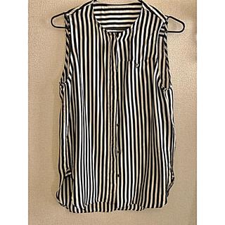 ルシェルブルー(LE CIEL BLEU)のLU CIEL BLUE ノースリーブシャツ(シャツ/ブラウス(半袖/袖なし))