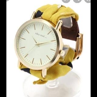 ニコアンド腕時計
