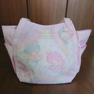 サンリオ(サンリオ)のキキララ☆限定デザイン☆かわいい キラキラ 大容量バルーンバッグ(ハンドバッグ)