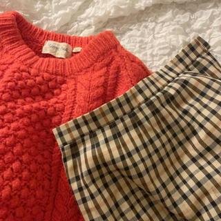 ロキエ(Lochie)のCheck skirt.(ロングスカート)