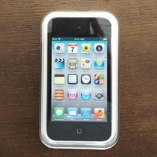 アイポッドタッチ(iPod touch)の未開封新品 第4世代 iPod touch 8GB Black(ポータブルプレーヤー)