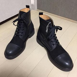 マドラス(madras)の破格■TSD12■レザー コンビ ブーツ 26cm 新品(ブーツ)