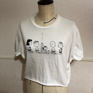ベルシュカ(Bershka)のBershka ベルシュカ SNOOPY スヌーピー スヌーピーコラボT(Tシャツ(半袖/袖なし))