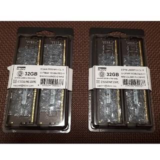 KLEVV ESSENCORE DDR4-2666 CL16 16GB×4(PCパーツ)