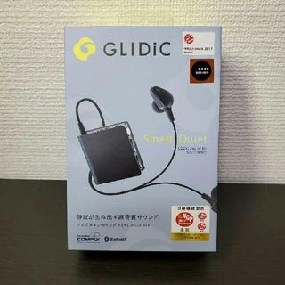 ソフトバンク(Softbank)の【新品】GLIDiC Sound Air WS-7000NC /ブラック(ヘッドフォン/イヤフォン)