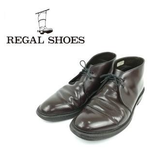 リーガル(REGAL)のREGAL リーガル ハイカット ビジネスシューズ レースアップ 革靴 ワイン(ドレス/ビジネス)