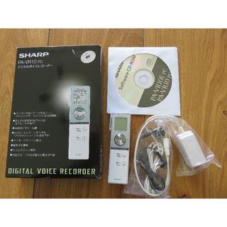 シャープ(SHARP)のSHARP デジタルボイスレコーダー PA-VR10 PC(その他)