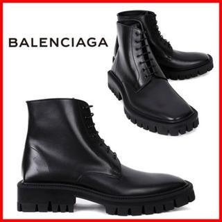 Balenciaga - BALENCIAGA レースアップブーツ EUR44