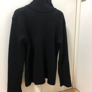 アニエスベー(agnes b.)のアニエスベー タートルネック セーター 黒(ニット/セーター)