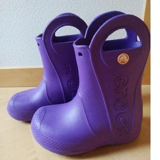 crocs - クロックス レインブーツ 17.5㎝