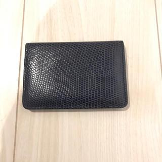 ジャンルソー  リザード カードケース(名刺入れ/定期入れ)