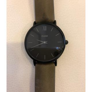 ビューティアンドユースユナイテッドアローズ(BEAUTY&YOUTH UNITED ARROWS)のCLUSE オールブラック 腕時計(腕時計)