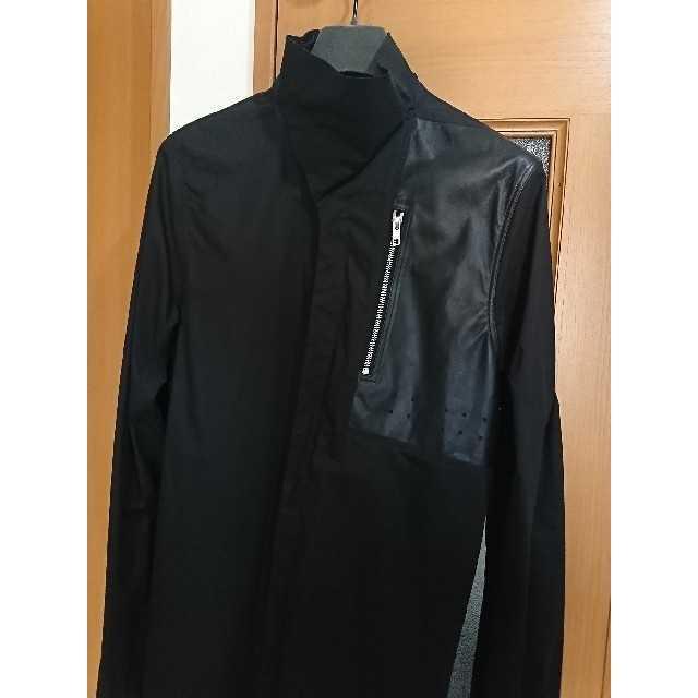 Rick Owens(リックオウエンス)のRick Owens FAUN期 レザーパッチシャツ メンズのトップス(シャツ)の商品写真