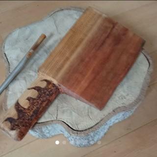 木製大ナタ(レベル3)(小道具)
