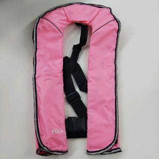 自動膨張式 ライフジャケット(ベストタイプ)ピンク(ウエア)