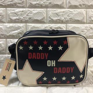 daddy oh daddy - ダディオダディ♠️新品・タグ付♠️ 通園バッグ 男女兼用 アメリカン柄ネイビー
