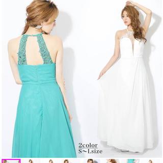 デイジーストア(dazzy store)のdazzy store アメスリビジュー付きAラインロングドレス(ロングドレス)