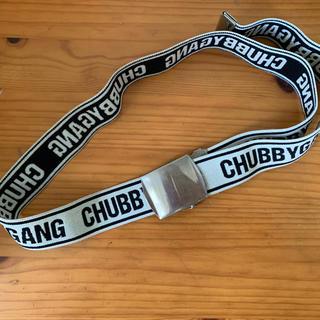 CHUBBYGANG - チャビーギャング キッズ ベルト♡