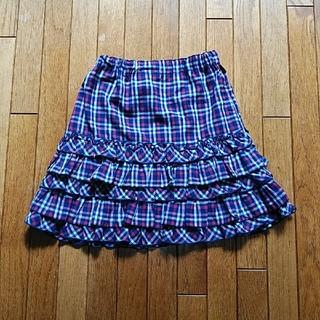 メゾピアノ(mezzo piano)のメゾピアノ スカート 140サイズ(スカート)