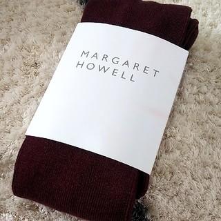 マーガレットハウエル(MARGARET HOWELL)の新品未使用★マーガレットハウエル★タイツ☆☆(タイツ/ストッキング)