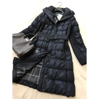 BURBERRY - 新品 バーバリー ロンドン ダウン コート ネイビー 紺