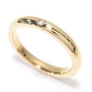 ティファニー(Tiffany & Co.)のティファニー バンドリング 18金 ダイヤモンド(リング(指輪))