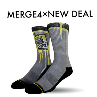 MERGE4「NEW DEAL NAPKIN LOGO SOCKS」(ソックス)