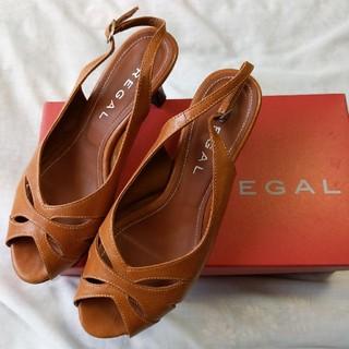 REGAL - リーガル 23cm パンプス バックストラップ