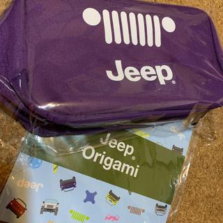 ジープ(Jeep)のJeep ジープ  ポーチ   折り紙(車内アクセサリ)