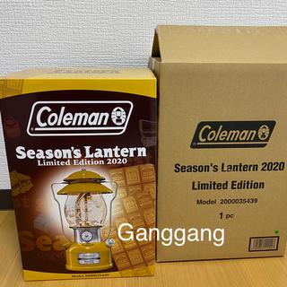 コールマン(Coleman)のColeman season's Lantern 2020 ランタン コールマン(ライト/ランタン)