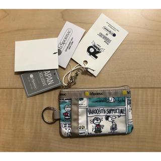 レスポートサック(LeSportsac)のレスポートサック ID CARD CASE スヌーピー (パスケース/IDカードホルダー)