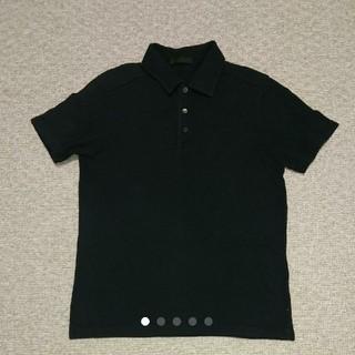 プラダ(PRADA)の値下 PRADA プラダ ポロシャツ 黒(ポロシャツ)