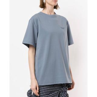 ルシェルブルー(LE CIEL BLEU)のアイレネ IRENE logo T-shirt(Tシャツ(半袖/袖なし))