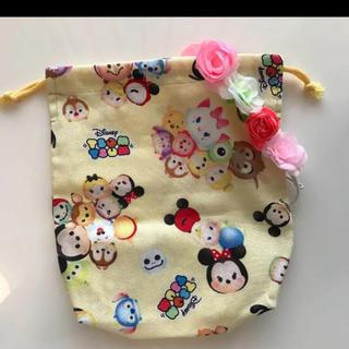 ディズニー(Disney)の新品♡ディズニーツムツムきんちゃく袋(外出用品)