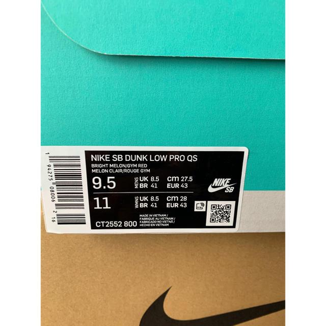 NIKE(ナイキ)のNIKE SB ダンク LOW メンズの靴/シューズ(スニーカー)の商品写真