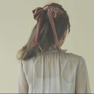 eimy istoire - 2/15間で限定値下げ エイミーイストワール  ベロアリボンバレッタ